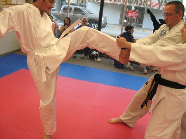 Neikirk front kick