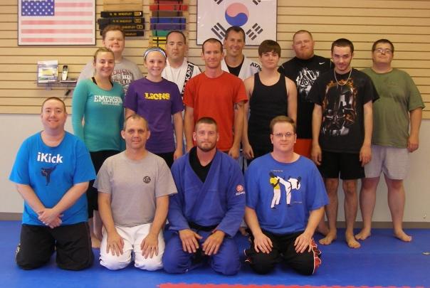 Adult BJJ participants